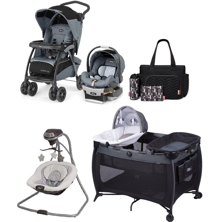 walk out travel system set stroller