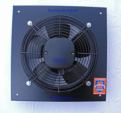 Axial Ventilator / Wandventilator / Lüfter 1050 m³/h für Lüftung Abluft Kühlung