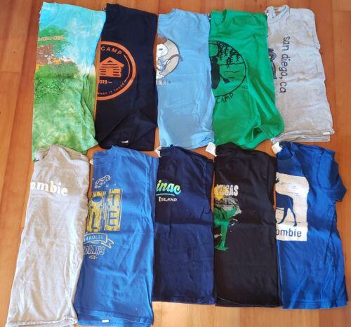 Boys size youth medium lot of 10 shirts