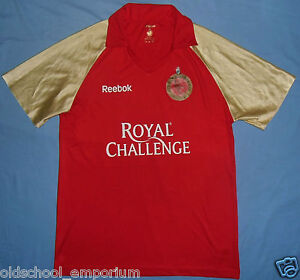 Royal Challengers Bangalore / REEBOK - VTG MENS CRICKET Shirt / Jersey. L / XL - Poland, Polska - Royal Challengers Bangalore / REEBOK - VTG MENS CRICKET Shirt / Jersey. L / XL - Poland, Polska