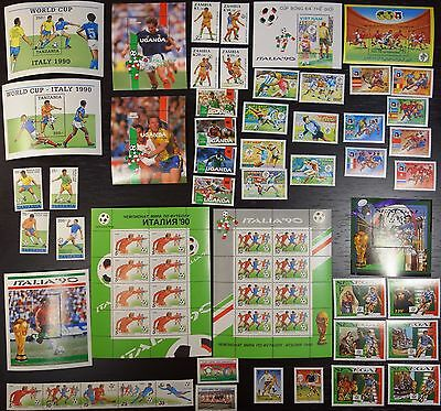 Collection, 1990 World Cup, soccer, football, MNH (08)