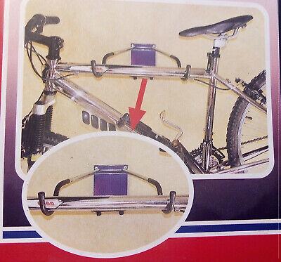 Bicicleta Estante De Almacenaje Plegable Gancho Garaje Soporte Pared Colgador