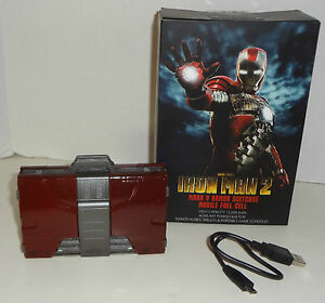 IRON-MAN-2-MARK-V-ARMOR-SUITCASE-MOBILE-FUEL-CELL-battery-charger-NEW