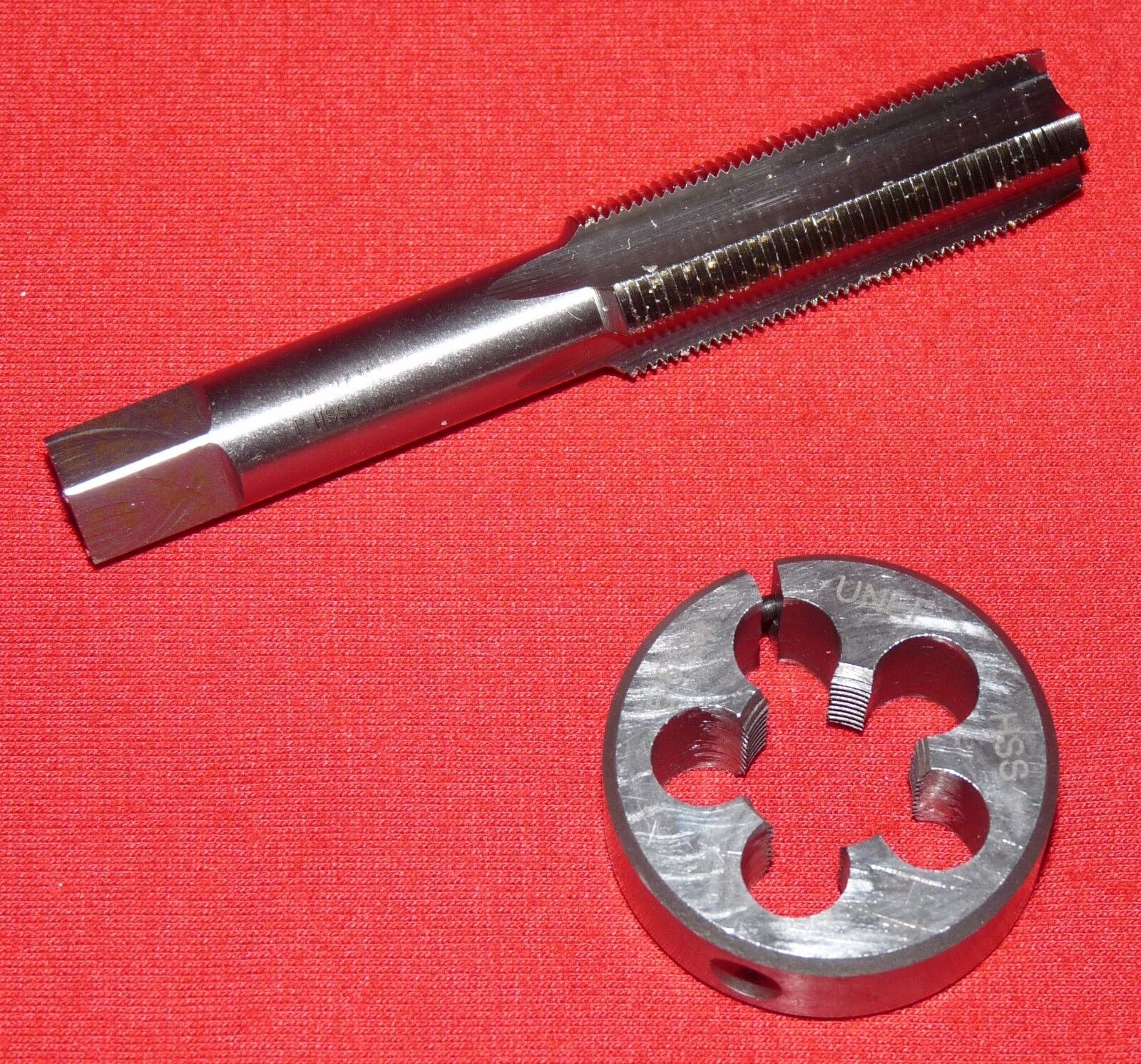 5/8-24 HSS Plug Tap & And Die 1.5