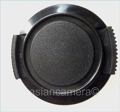 Front Lens Cap For Sony DCR-DVD808E DCR-DVD908E Keeper Cord Snap-on Glass Cover