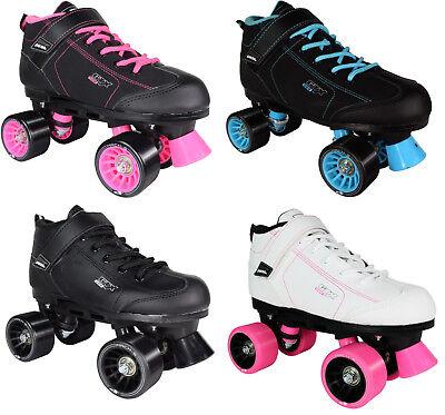 Pair Roller Skates - Pacer GTX-500 Quad Speed Roller Skates Pair 2017 Model Size 5-11 NEW