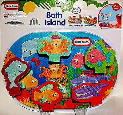 LITTLE TIKES,BATH ISLAND,BATH TIME TOY,W/ FLOATING ISLAND & SEA - Floating Island Bath