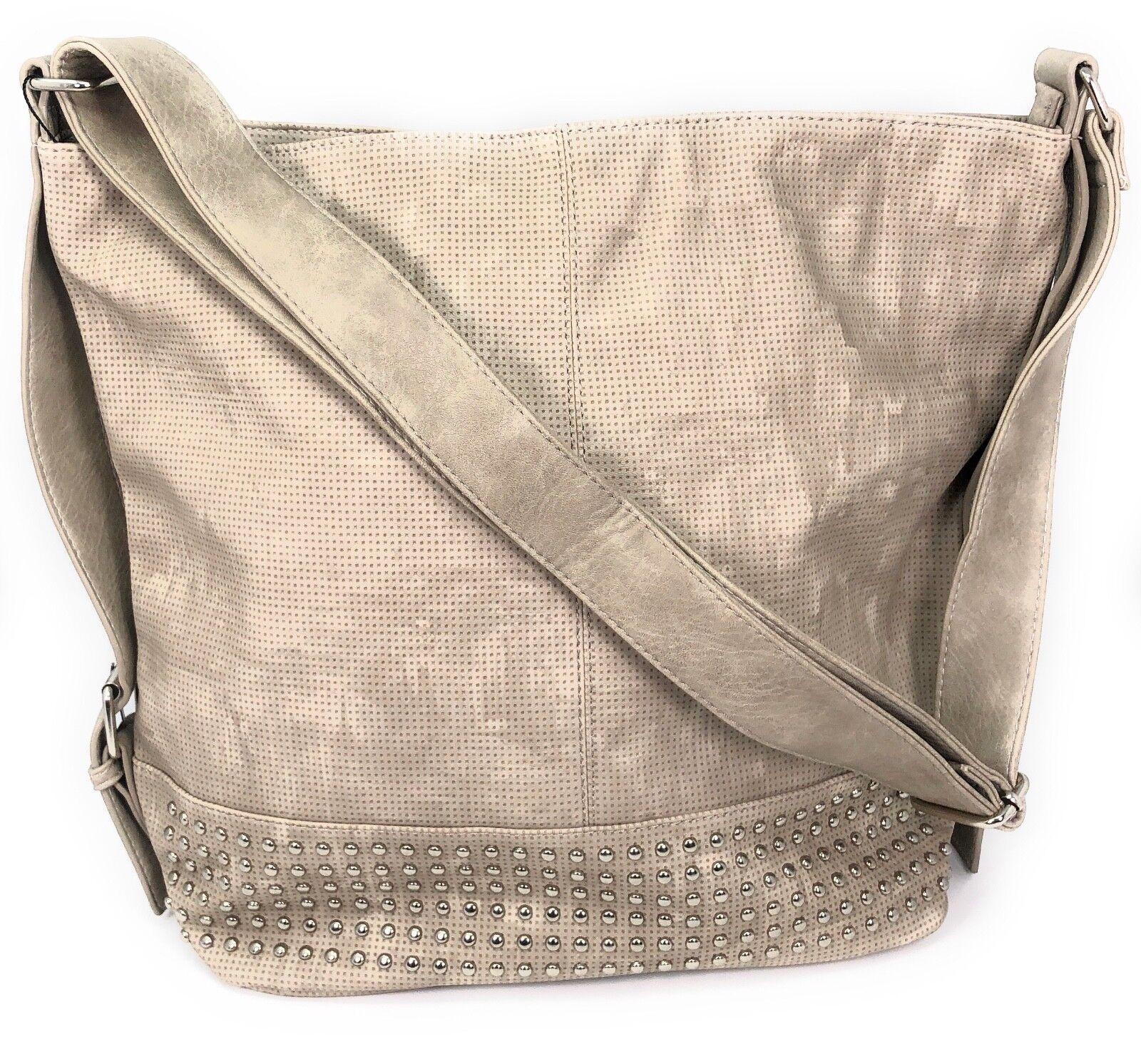 Handtasche Damen Umhängetasche Schultertasche Tasche Henkeltasche XL Shopper