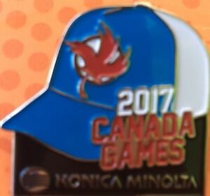 Canada games pin for sale