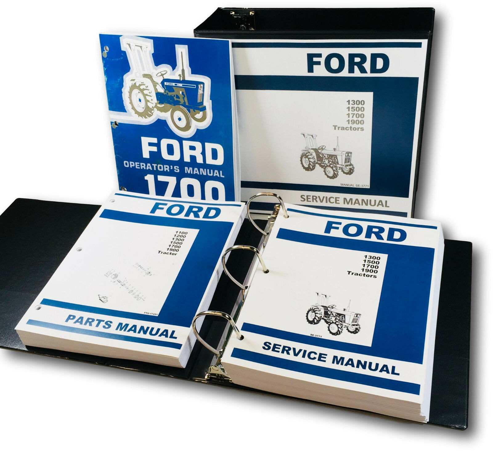 ... Ford 1700 Tractors. Complete Repair/Overhaul/Parts and Operations