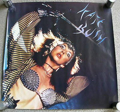 KATE BUSH Mini LP LARGE Promo Poster Mint- USA 1982~83 ORIGINAL!! RARE
