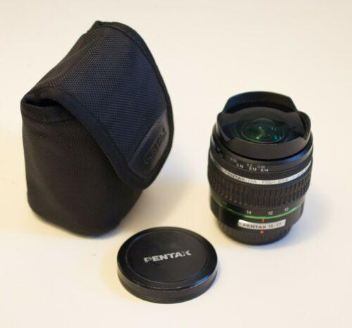 Pentax DA 10-17mm f/3.5-4.5 Lens
