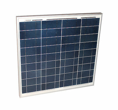 Solarmodul 50 Watt poly Solarpanel Photovoltaik 50 W Solarzellen TÜV Zertifikat