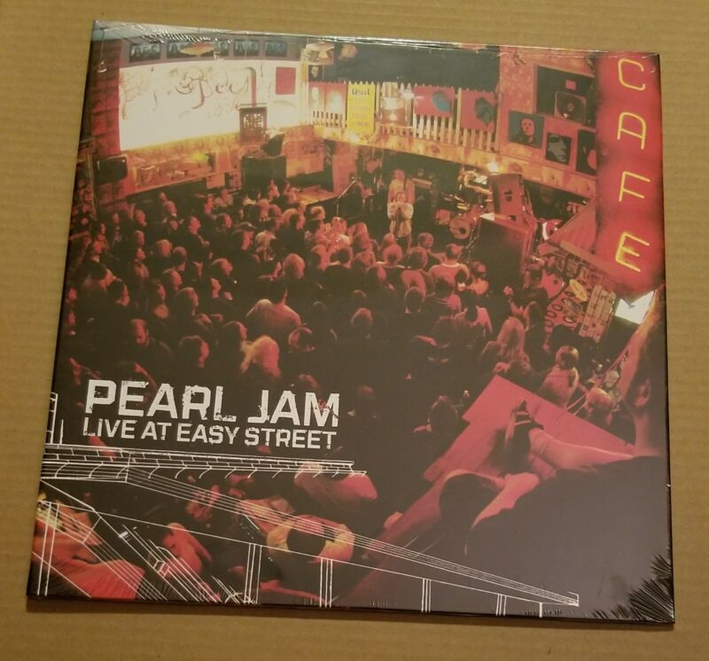 Pearl Jam - Live at Easy Street RED VINYL EDITION Record Store Day Sealed New