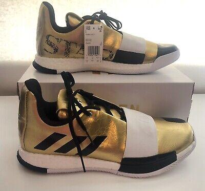 Size 12 1/2 New James HARDEN VOL. 3 'IMMA STAR' G54026 Gold Metallic/White/Black