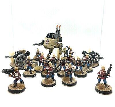 Warhammer 40k Astra Militarum - Painted Praetorian Guard Army Lot