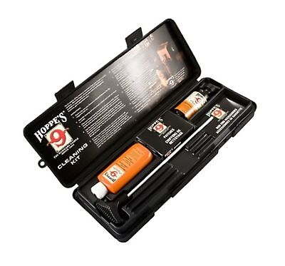 Hoppe's PCO38 Gun Cleaning Kit 38 357 9mm Pistol Aluminum Rod Oil Solvent Box