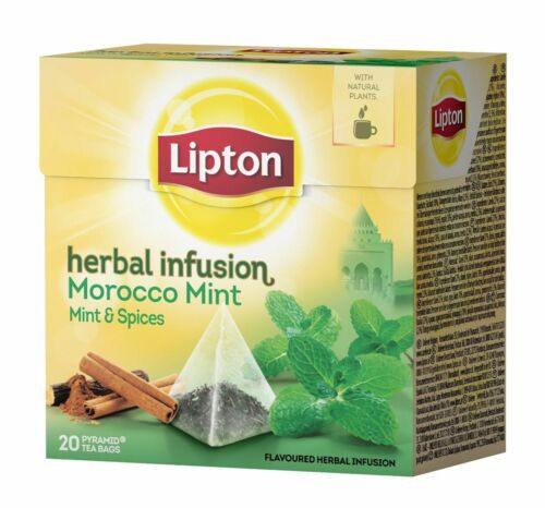 Lipton Tee Marokko Pfefferminze und Zimt