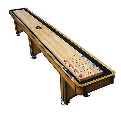 Ordinaire Playcraft Georgetown Honey 14u0027 Shuffleboard Table