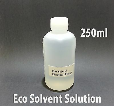 Eco Solvent Cleaning Solution 250ml For Mimaki Roland Mutoh Epson Ink Line Head