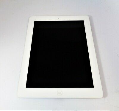 "Apple iPad 2 16GB A1395 MC996LL/A 9.7"" White & Silver WiFi iOS 9.3.5 Hot Deal"