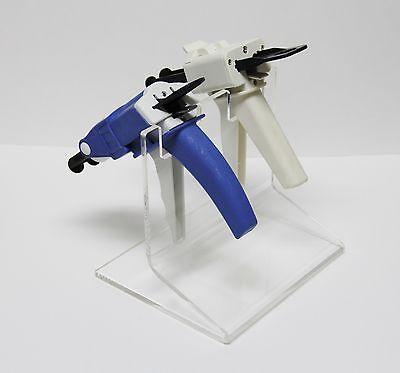 Dental Premium Upright Dual Impression Gun Rack Organizer Holder By Plasdent