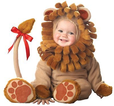 Lil' Lion Elite Collection Infant Toddler Costume King Jungle Theme Kids Party