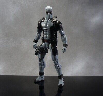 """Marvel Legends Deadpool Sasquash Series X-Force Gray Uniform 6"""" Action Figure"""