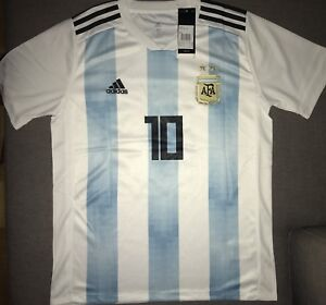 Messi - Adidas Argentina 2018 World Cup Jersey