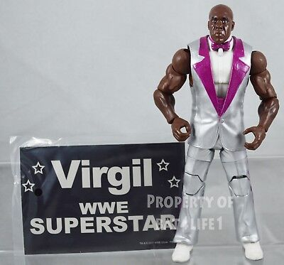 WWE Elite TOYS R US EXCLUSIVE VIRGIL LOOSE!! HTF!! STILL NEW!!!! for sale  Shipping to India