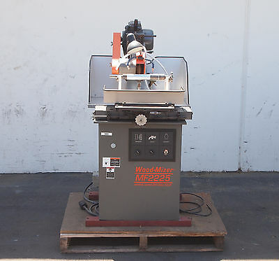 Wood Mizer Mf2225 Profile Grindersharpener Rebuilt Woodworking Machinery