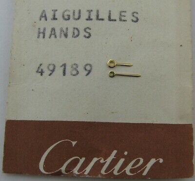 Cartier Lady watch set of yellow gold hand * 49189 *