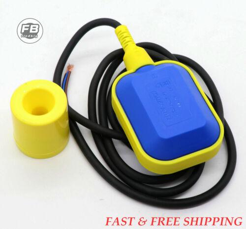 NEW Float Switch Water or Liquid Level Sensor Sump Tank NC/NO Controller USA