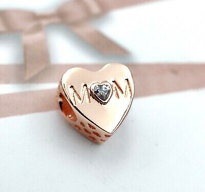 Pandora Rose Gold Love Mom Heart Charm 781881