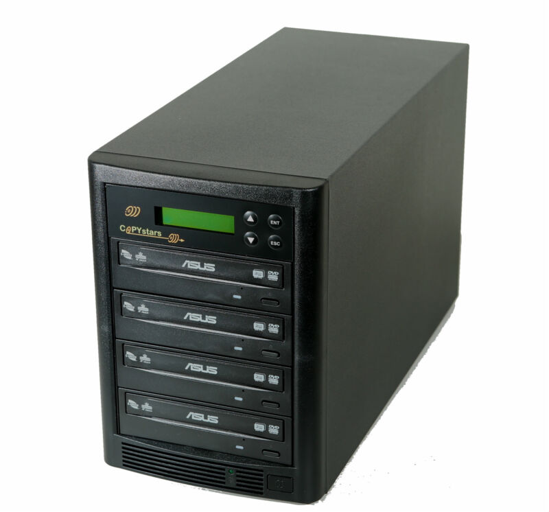 Copystars Asus 1-3 DVD CD Duplicator Disc Burner Copier Writer Recorder Tower