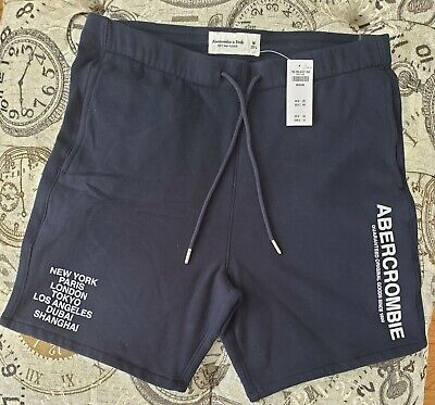 Abercrombie & Fitch Mens City Graphic Shorts - Soft AF - New!!!!