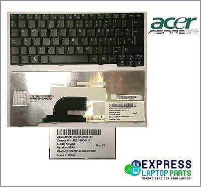 Teclado Acer Aspire One D150 D250 KAV60 P531 Series MP-08B46E0-9201 NUEVO