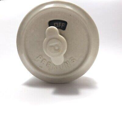 Vintage Perkins Ceramic Surface Rotary Light Switch