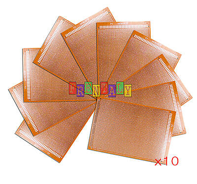 10pcs 12x18 Cm Diy Prototype Matrix Paper Pcb Universal Board Prototyping Kit