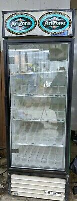 True Used Single Glass Door Refrigerator Cooler Merchandiser As Islocal Pickup