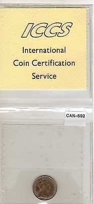 """1902-H Canada, LG """"H"""", 5 Cents, Silver, .0346 oz (Can-693)"""
