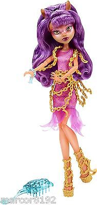 Monster High Doll Haunted Getting Ghostly Clawdeen Wolf new