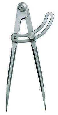 Bogenzirkel Anreißzirkel 400 mm mit Schraubscharnier NEUWARE