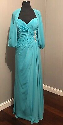 CATERINA BY JORDAN FASHIONS MOTHER OF THE BRIDE DRESS NWT SIZE 18 Jordan Mother Dress