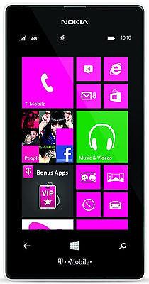 Nokia Lumia 521  8Gb   White Windows Phone Smartphone  T Mobile  Rm 917