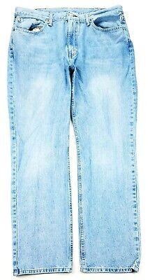 Levis 514 Mens Slim Straight Leg Jeans Size 38X31