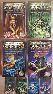 Sorcery! ***BRAND NEW COMPLETE SET 1-4!*** Wizard Fighting Fantasy Steve Jackson