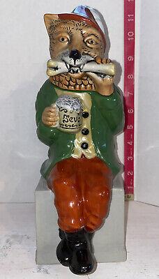 Vintage 1993 Anheuser-Busch Bevo Fox Stein. No Box