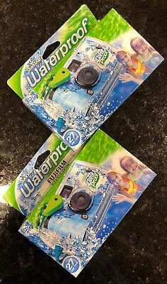 Fujifilm Disposable QuickSnap Waterproof Underwater 35mm Cameras 27 Exp 3 Camera