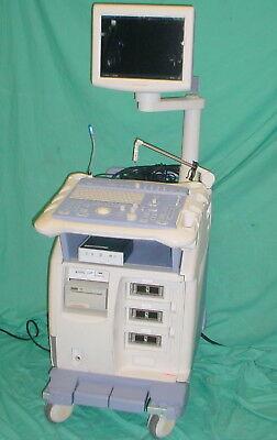 Will Ship Aloka Prosound Ssd-a5 Sv Ultrasound System Cart Based No Probes